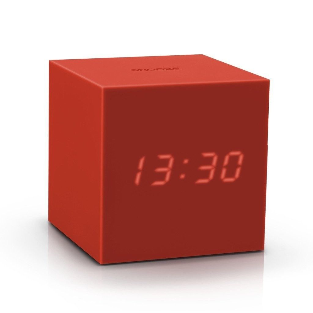 Gravity Click Clock - Red