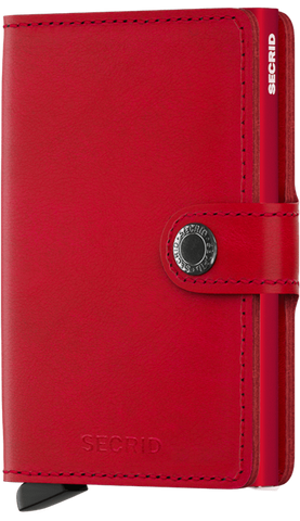 Secrid Miniwallet - Red