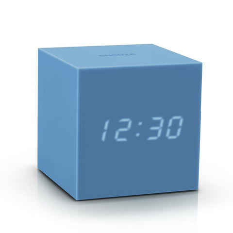 Gravity Click Clock - Skyblue