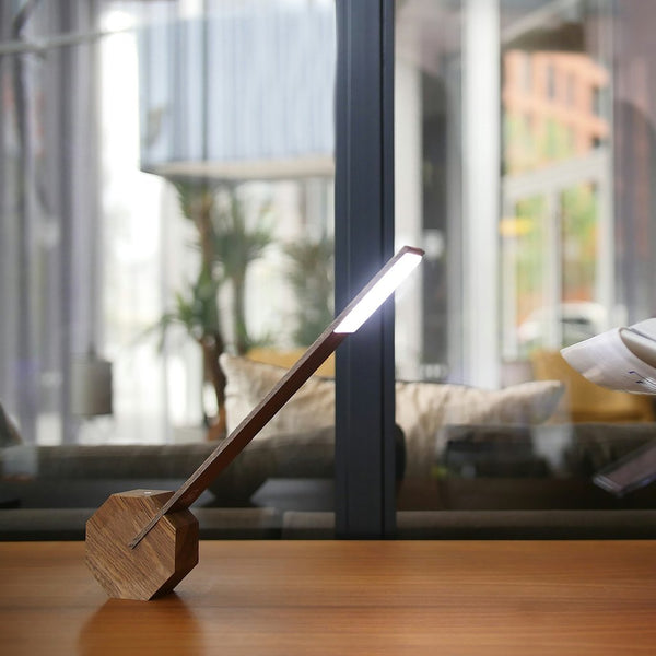 Desk Lamp - Walnut Colour