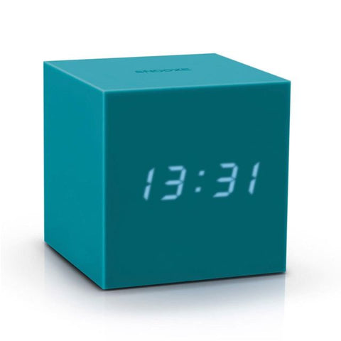 Gravity Click Clock - Teal