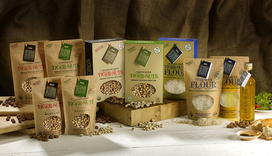 """We love our new Tiger Nuts website hope you do too"""