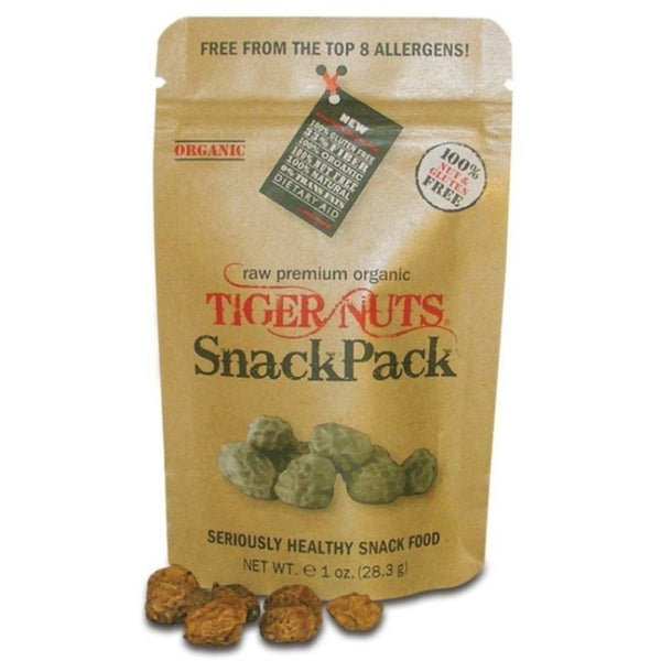 "Tiger Nuts - Premium Organic ""SnackPacks"" only $1.49 each, with FREE SHIPPING!"