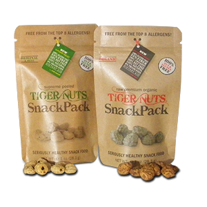 FREE Samples of Supreme Peeled & Premium Organic Tiger Nuts! (One per US Household)