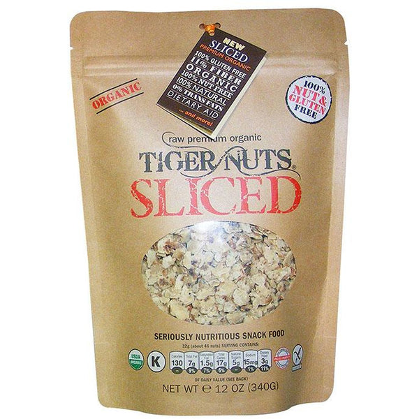 SLICED Premium Organic Tiger Nuts - IN STOCK