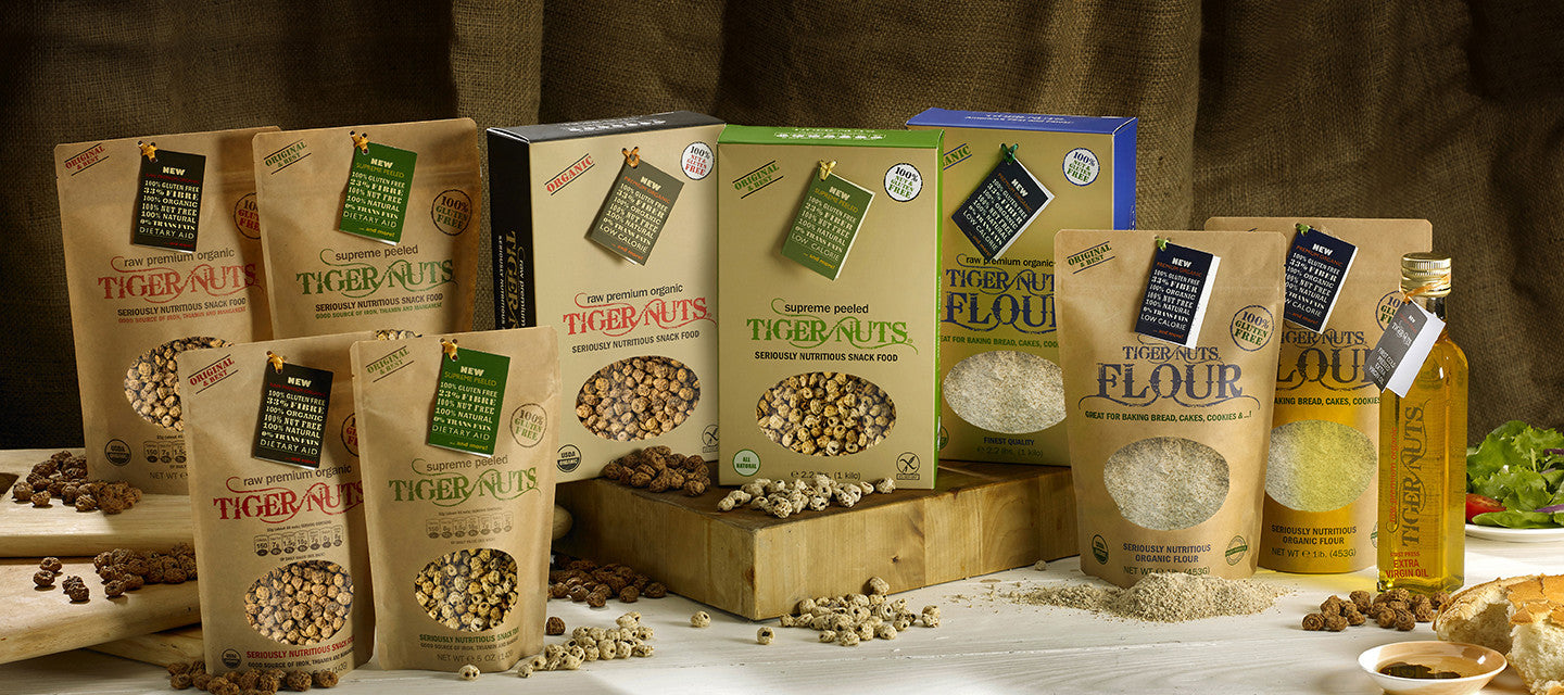 TIGER NUTS, Seriously Healthy Snacks