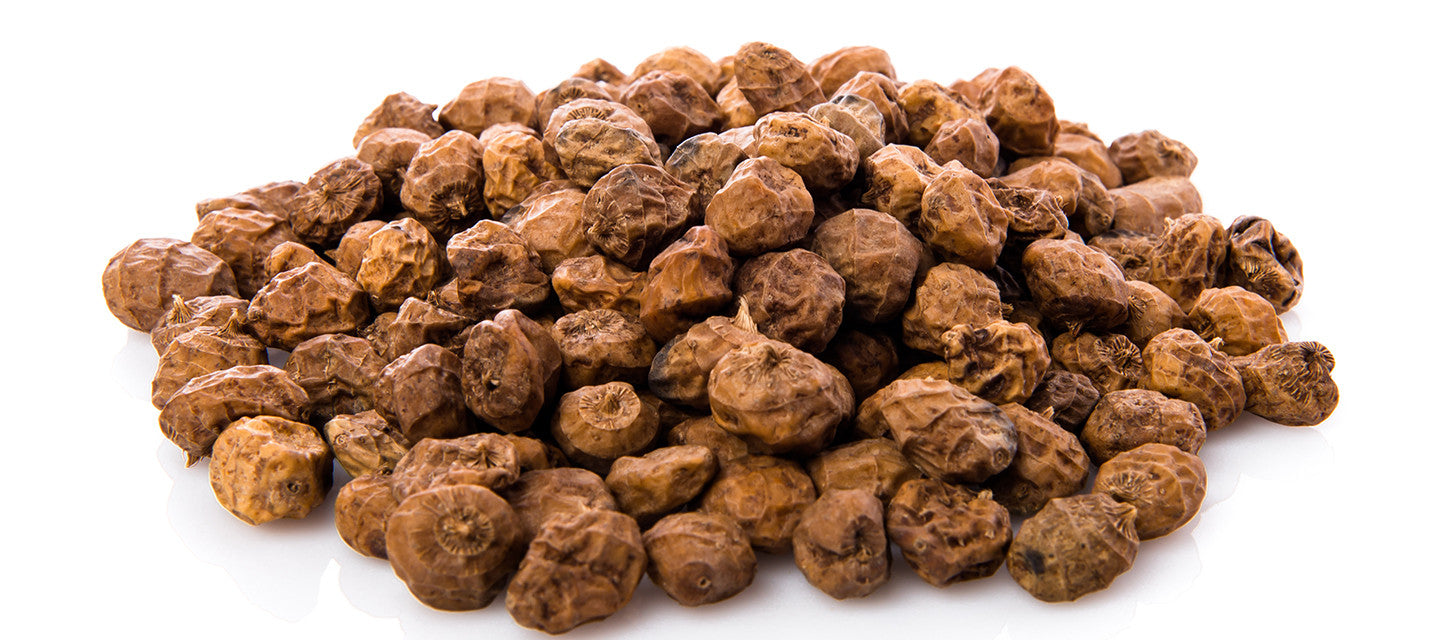 Our Award Winning Premium Organic Tiger Nuts are packed in our ORGANIC facilities!