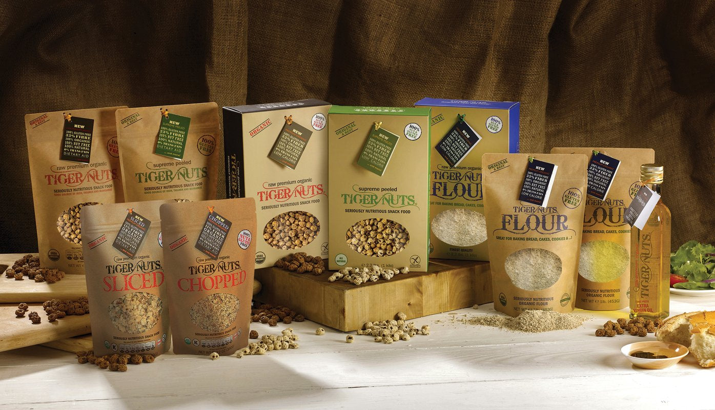 Tiger Nuts, seriously healthy and IN STOCK!