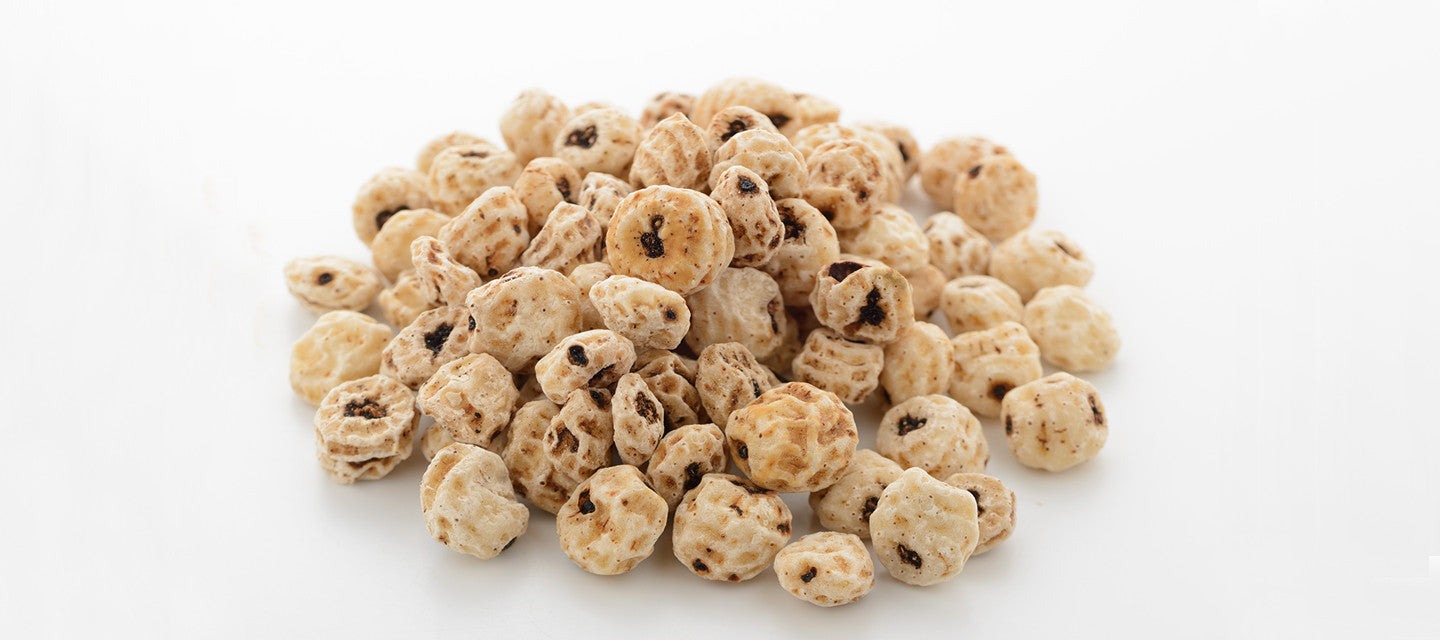 Supreme Peeled Tiger Nuts, are only available from Tiger Nuts USA