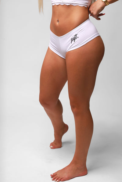 PYT® Boyshorts Cursive Logo 4 Colors