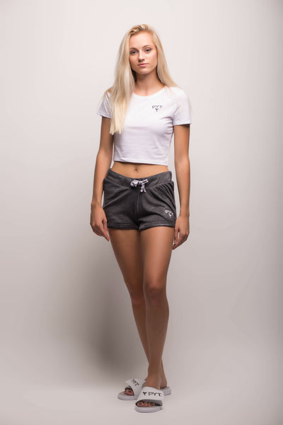 Crop Top Tee Arch Logo 2 Colors