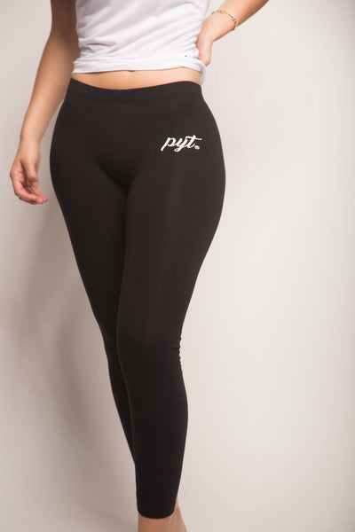 Leggings-Cursive Logo 2 Colors