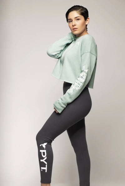 Side Calf Leggings 2 Colors