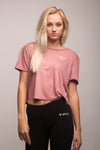 Flowy Cropped Tee 3 Colors
