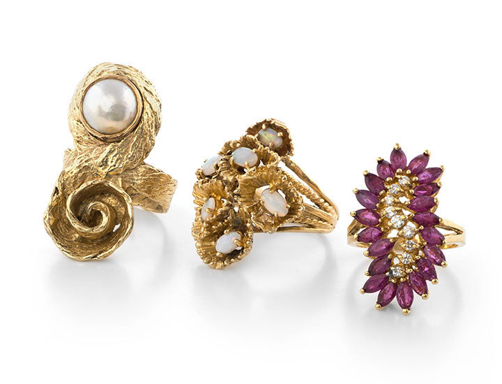 Estate, Vintage and Antique Rings