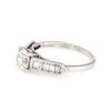 Cartier Vintage Diamond Platinum Engagement Ring