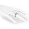 14k White Gold Art Deco Ring