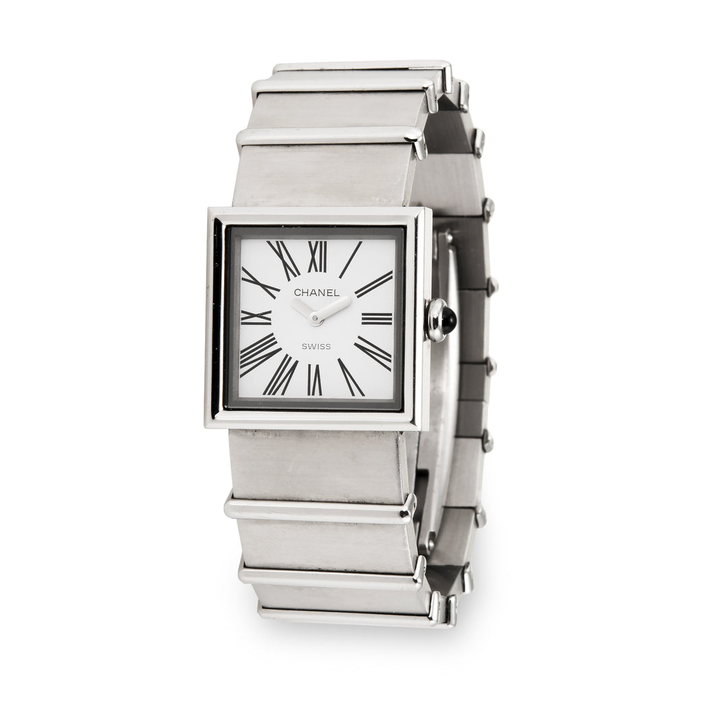 Chanel Mademoiselle Stainless Steel Watch 1989