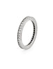 Cartier D'Amour Wedding Band Sz 48 US 4 1/2 Platinum Ring Estate Box + Papers