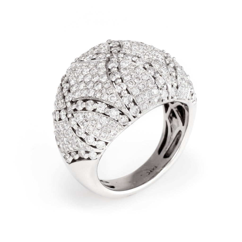 Sophie Jane Pave Diamond Cocktail Ring