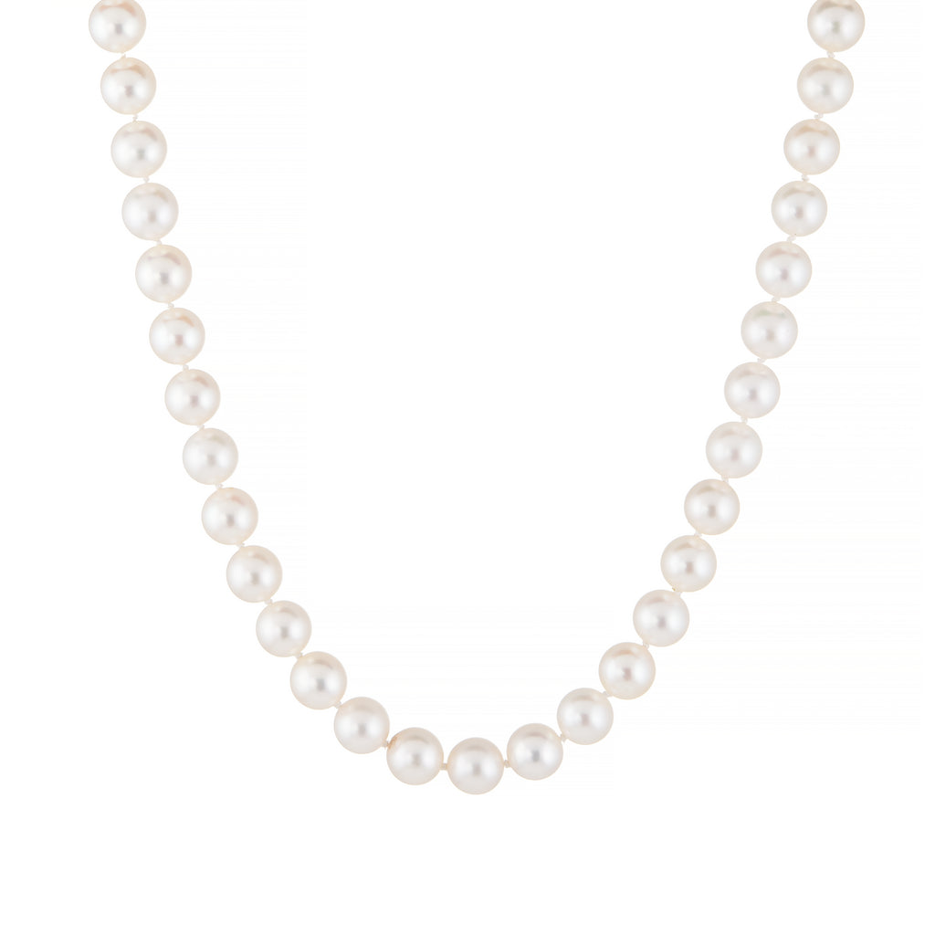 Vintage Long Pearl Necklace