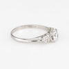 Antique Deco Transitional Cut Diamond Engagement Ring