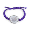 Kimberly McDonald Geode Diamond Bracelet