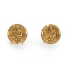 Ruser Cufflinks Vintage 14k Yellow Gold Saint Genesius Fine Jewelry