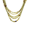 Vintage Tiffany & Co Chrysoberyl Necklace Torsade Multi 5 Strand Estate Jewelry