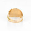 Vintage Mens Gold Nugget Ring Round Signet 10k Sz 9.75 Estate Fine Jewelry