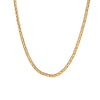 Vintage Cartier Necklace Chain 18k Yellow Gold 3mm Textured 15.5