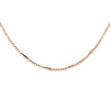 Vintage 14k Rose Gold Necklace 22.5