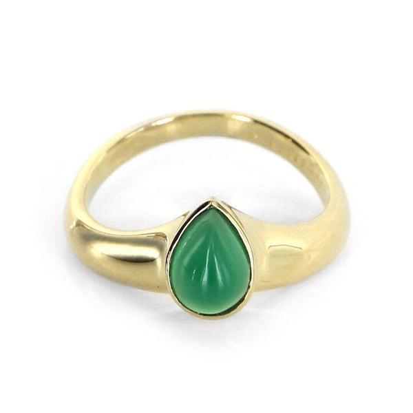 Van Cleef & Arpels Chrysoprase V Ring