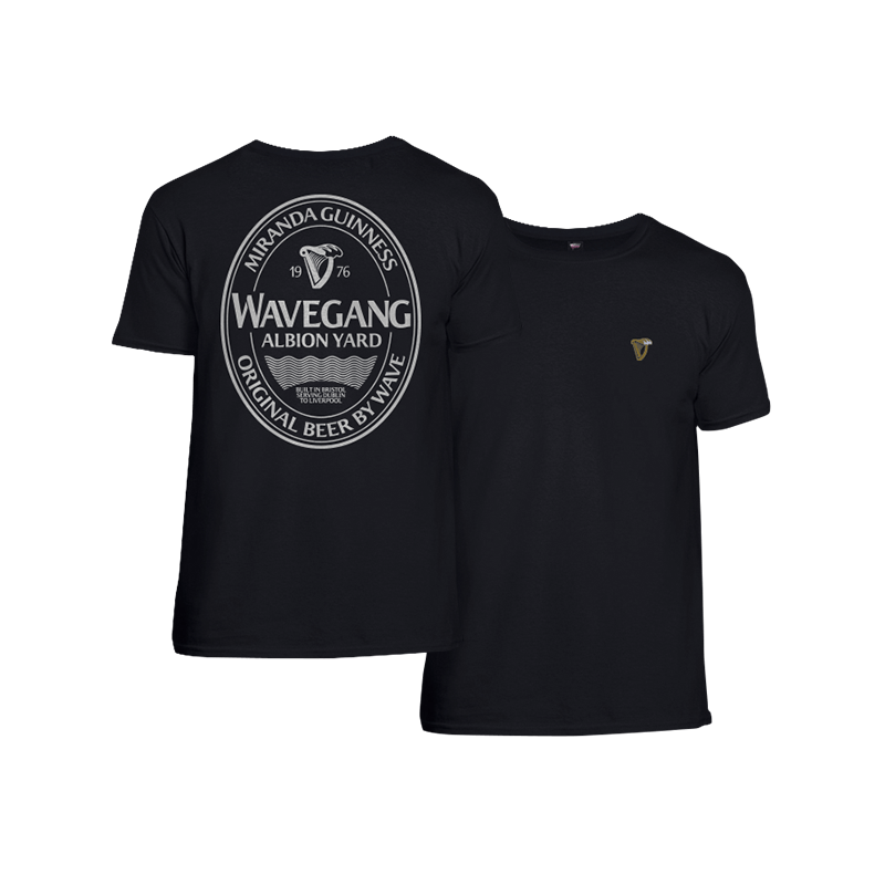 WAVEGANG Miranda Guinness T-Shirt - Black