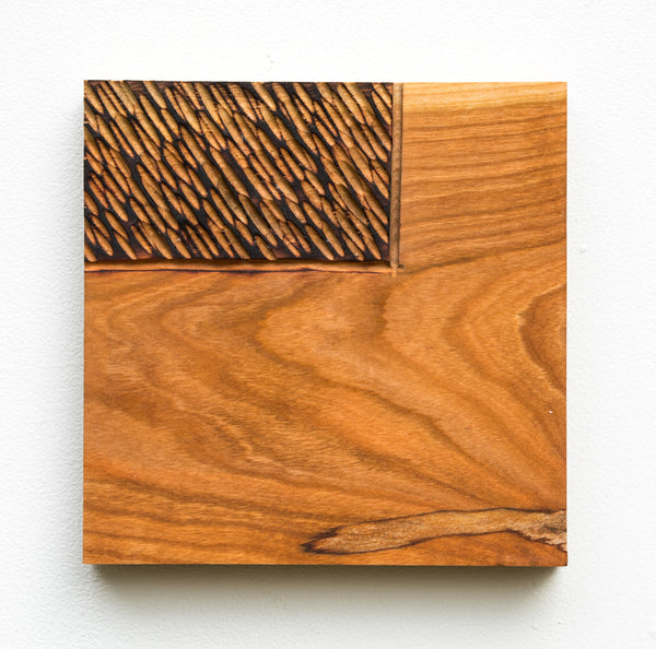 Carved Square - Cherry