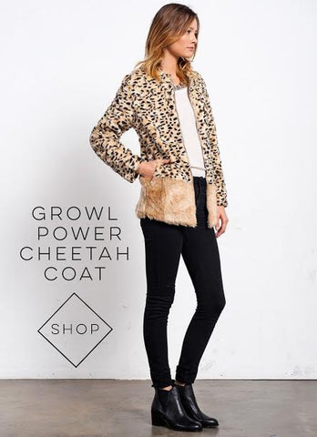 Kate Moss street style cheetah coat Mickeys Girl