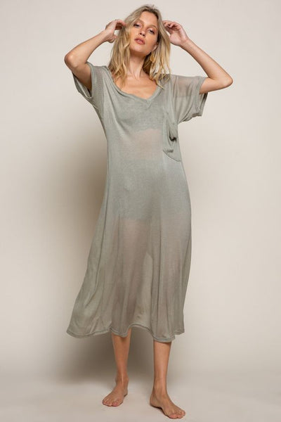 Bailen Ovesize T-Shirt Dress