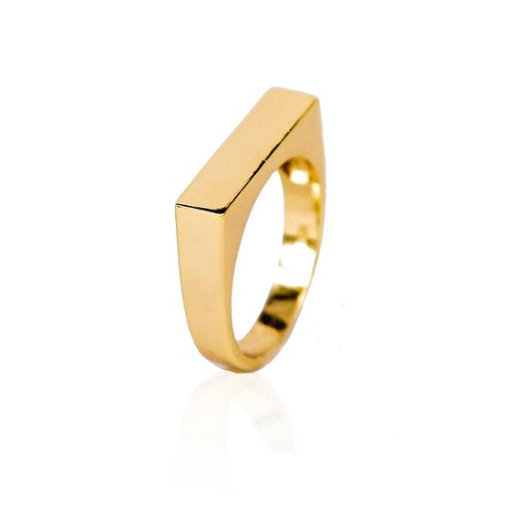 Boyfriends Vermeil Ring