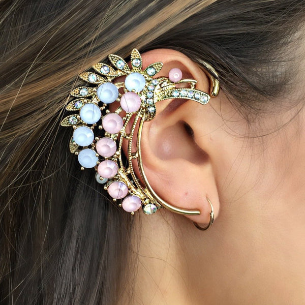 earring cuff, womens earrings, ear jewelry, ear glam, ear cuff, ear accessories