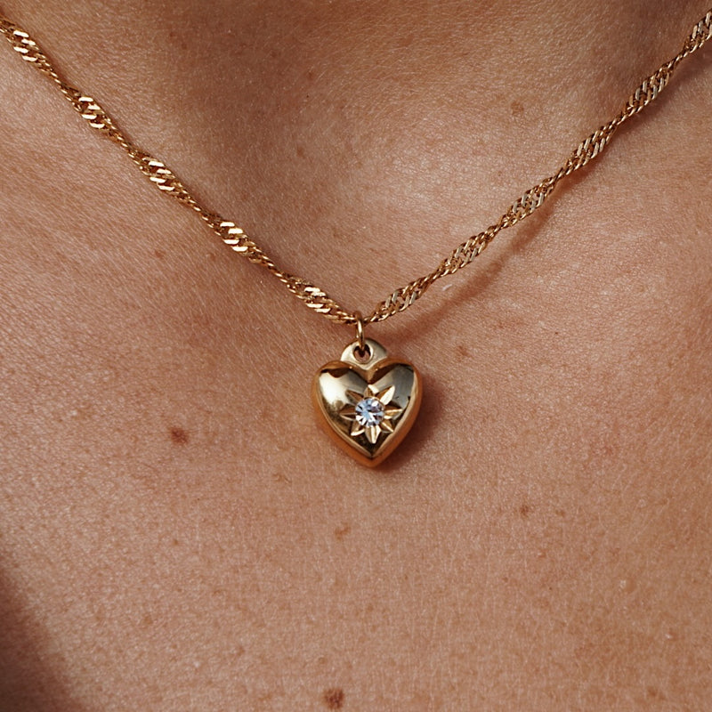 Cupids Heart Necklace