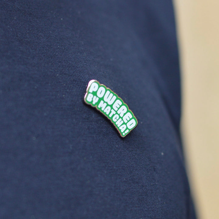 Matcha Works Pin
