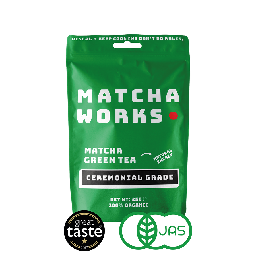 Organic Ceremonial Grade Matcha (25 servings)