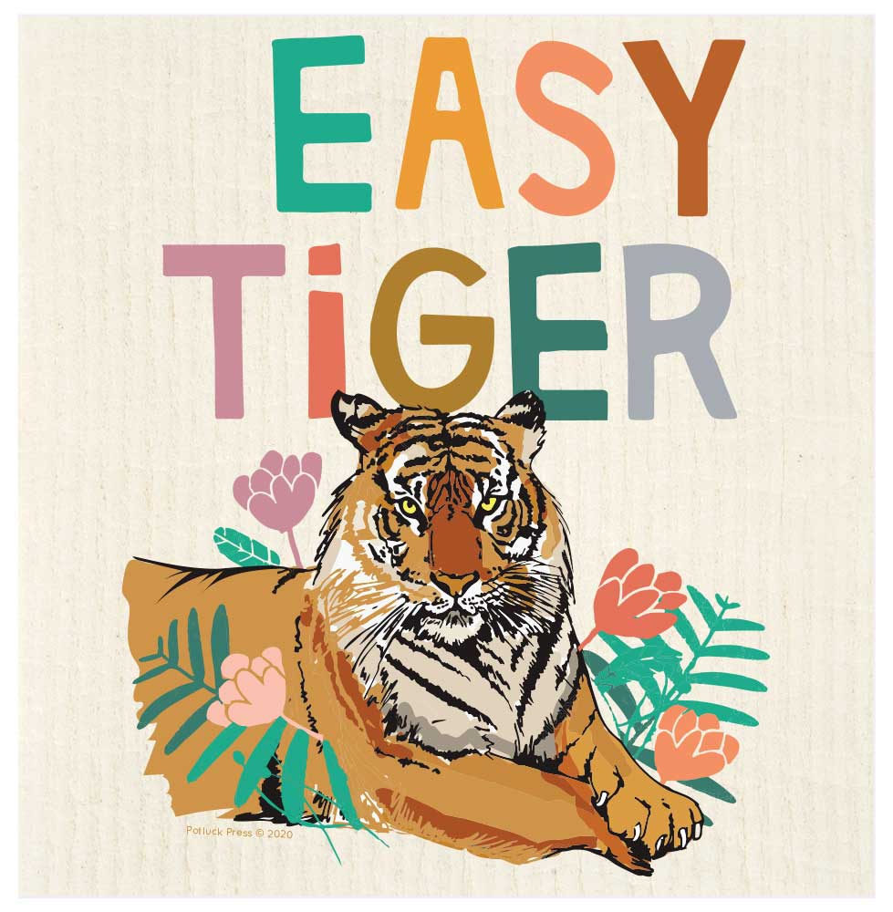 Easy Tiger Swedish Dishcloth