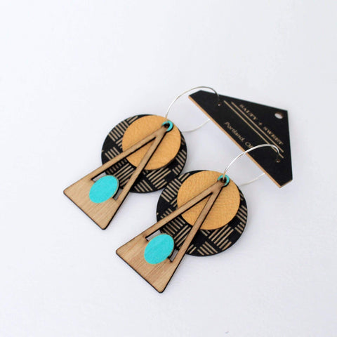 Deco Earrings *available in 4 colors