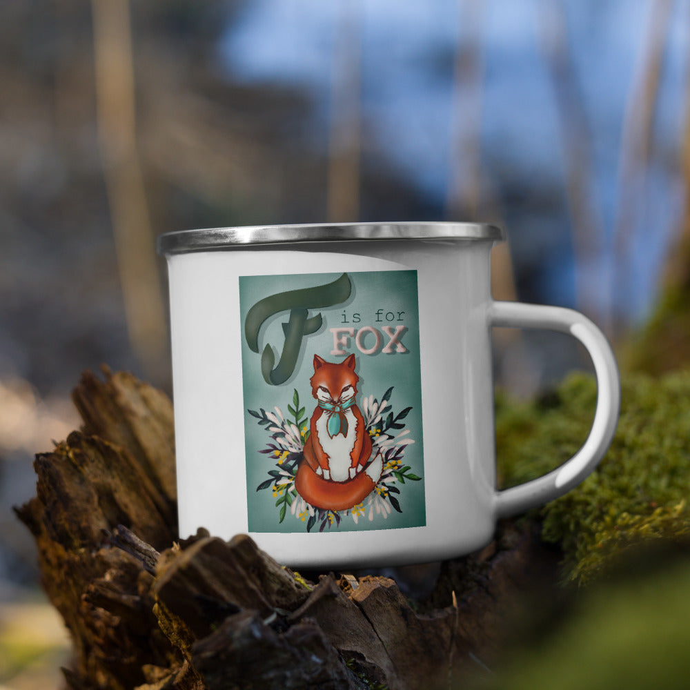 Mr. Fox Enamel Mug
