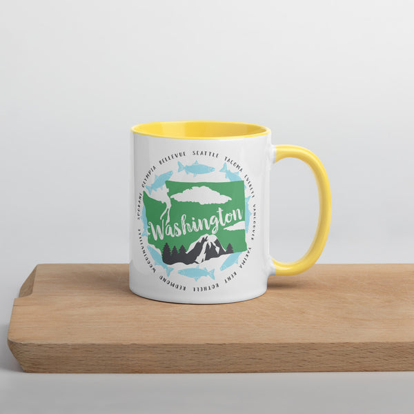 Washington Cities Mug