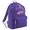 Car Embroidered Rucksack/PE bag
