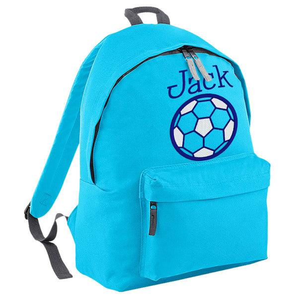 Embroidered Rucksack - Football