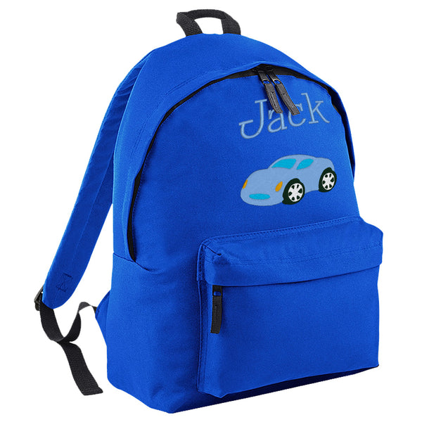 Embroidered Rucksack - Car