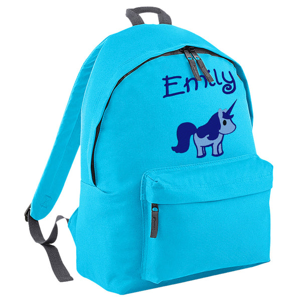 Embroidered Rucksack - Unicorn